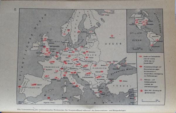 Internationale Unterstützung Sowjetrusslands