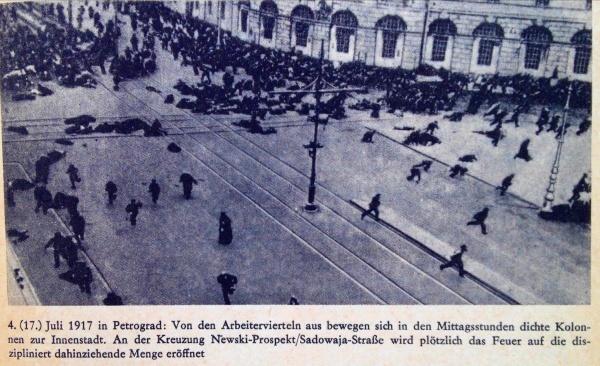 Petrograd Juli 1917