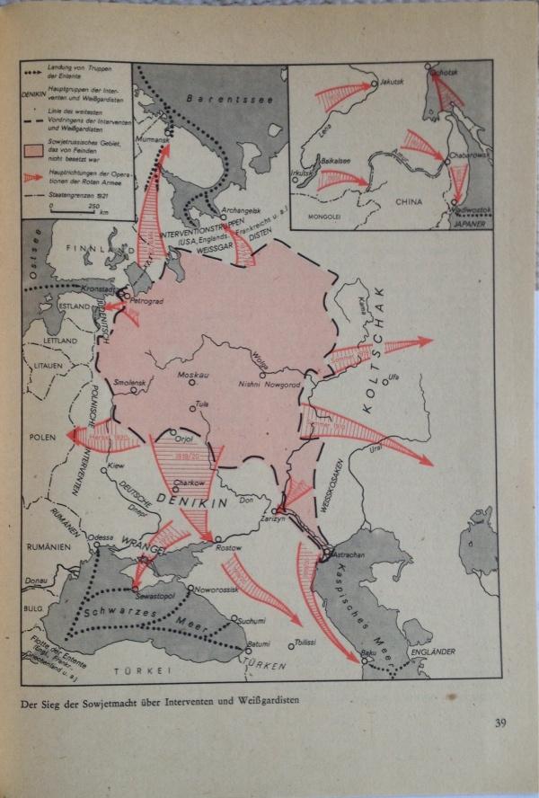 Sieg Sowjetmacht Interventionskriege