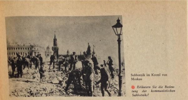 Subbotnik in Moskau