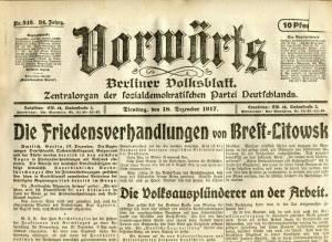 vorwarts-dezember-1917