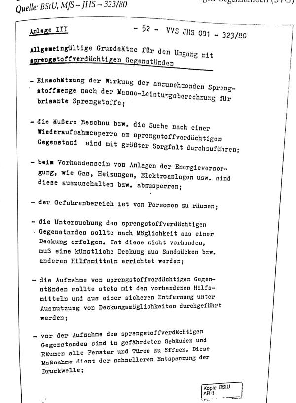 Formblatt Sprengstoffverdächtig DDR 002-1