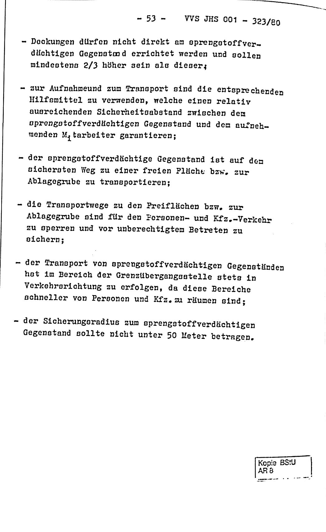 Formblatt Sprengstoffverdächtig DDR 002