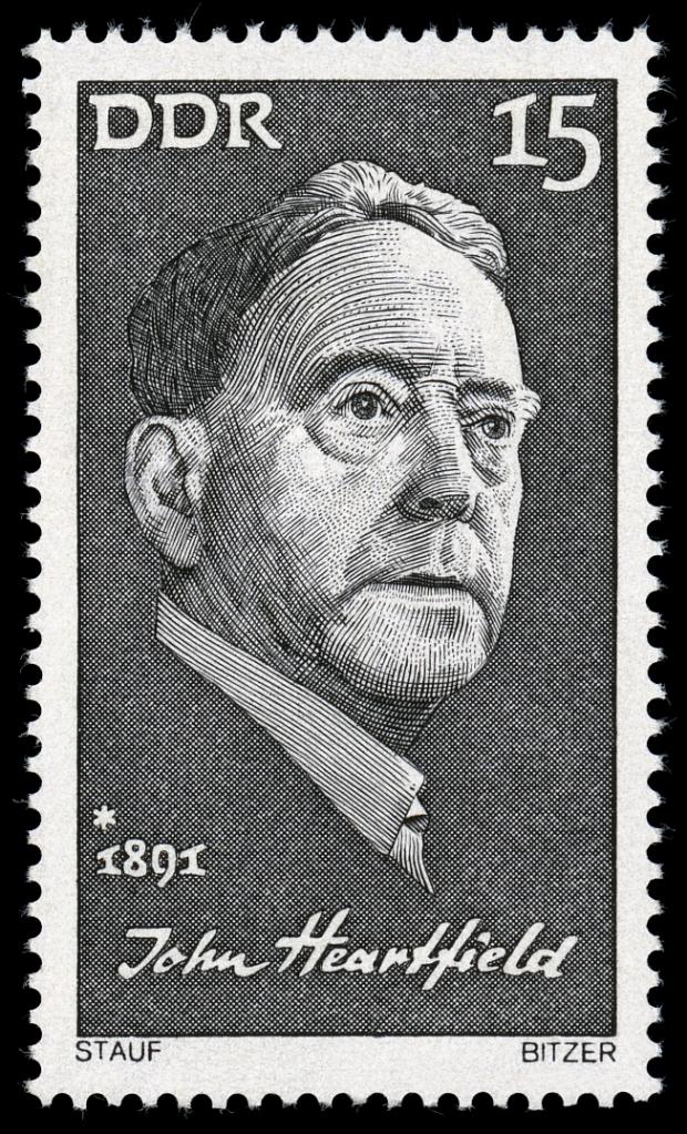 15-Pf-Sondermarke der DDR-Post 1971 aus der Serie Berühmte Persönlichkeiten