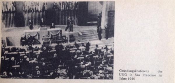 Gründungskonferenz der UNO