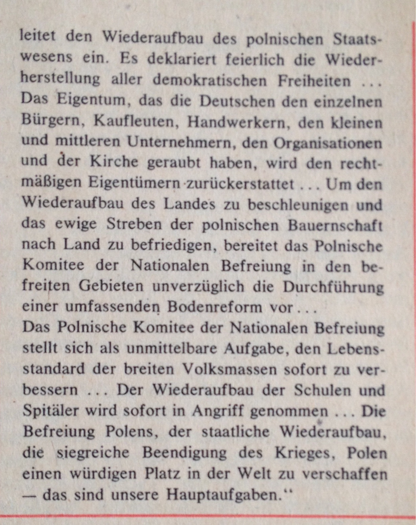 Lubliner Manifest Text 2