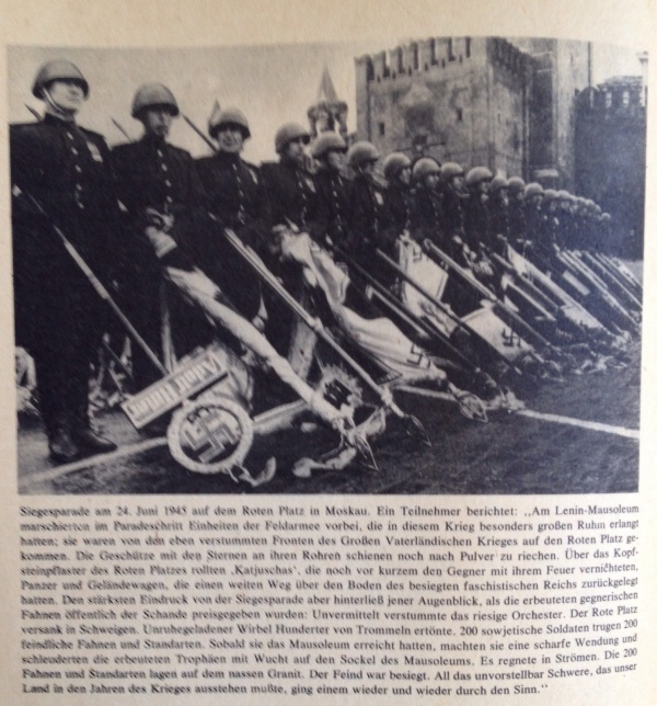 Siegesparade Moskau Juni 1945
