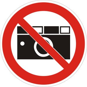 Fotografierverbot