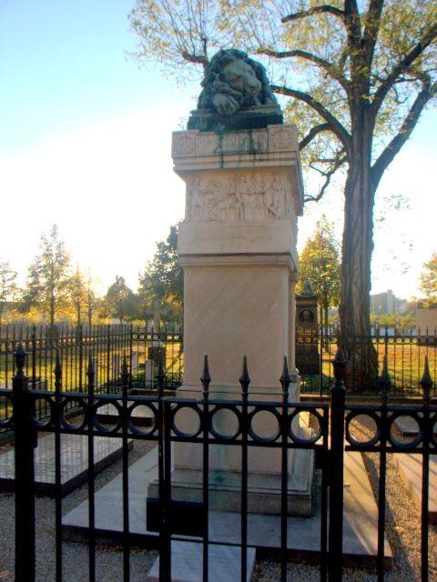 Grabstätte von Scharnhorst auf dem Invalidenfriedhof in Berlin