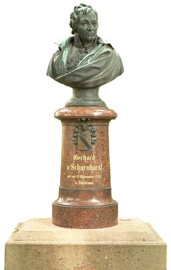 Scharnhorst-Denkmal im Geburtsort Bordenau
