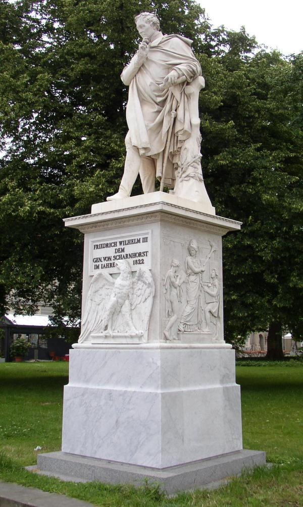Scharnhorst-Denkmal in Berlin-Mitte