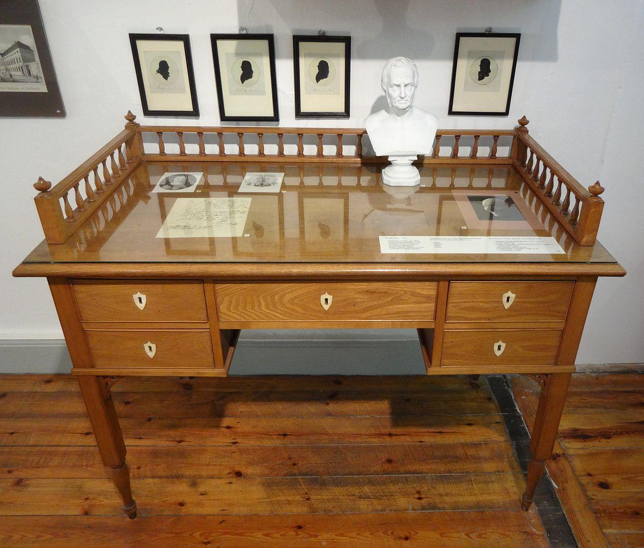Arndts Schreibtisch Museum Stralsund