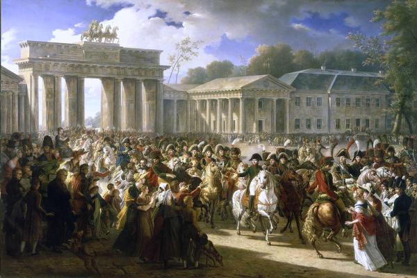 Charles Meynier- Einzug Napoleons am 27. Oktober 1806 in Berlin