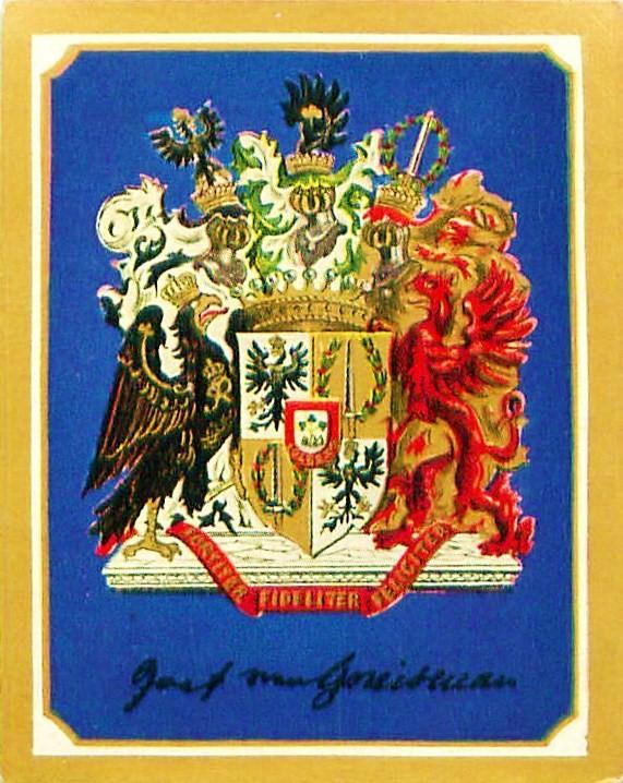 Das 1814 zum Grafenstand verliehene Wappen