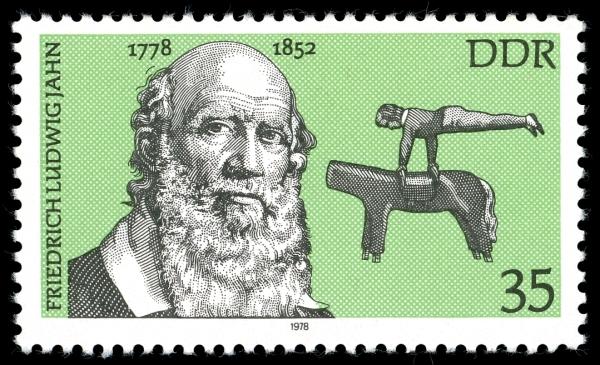 Gedenkbriefmarke der Deutschen Post der DDR zum 200. Geburtstag