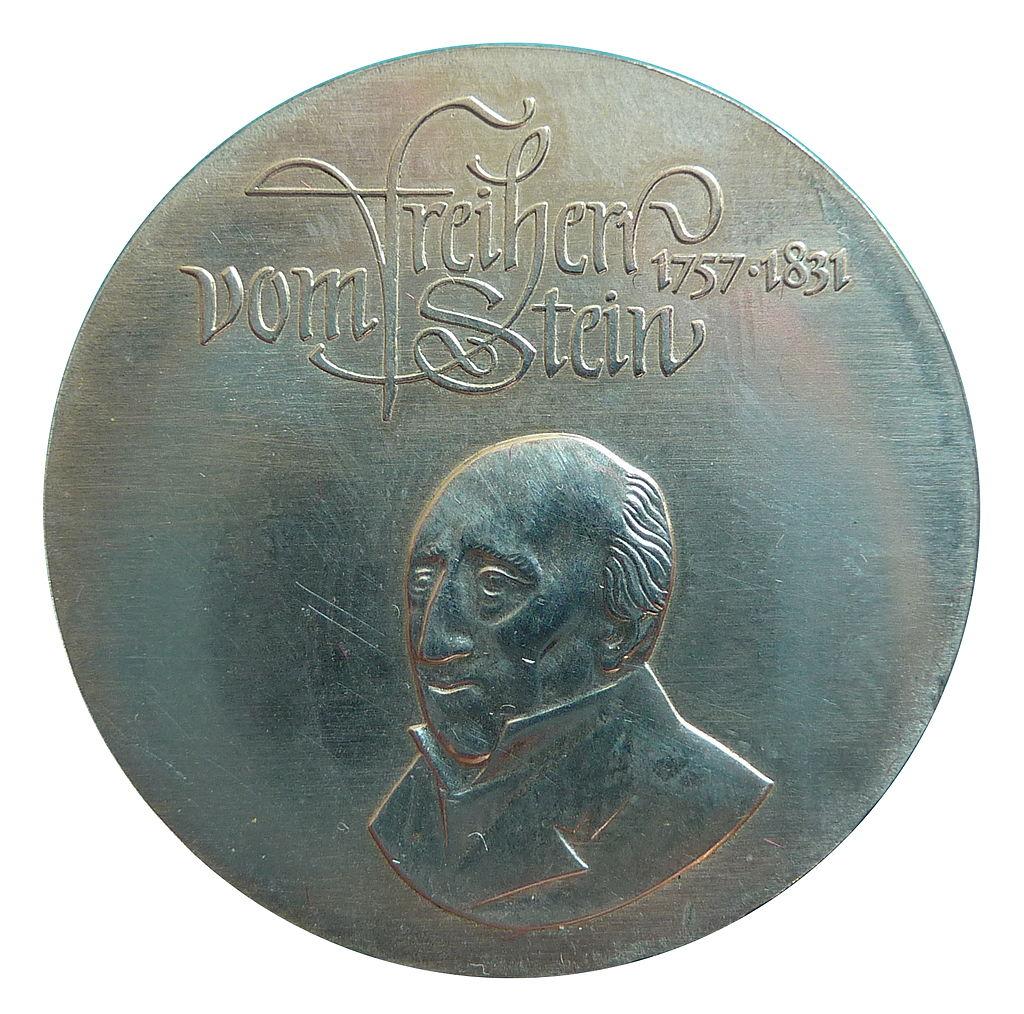 Freiherr vom Stein: Berufungen und Ehrungen