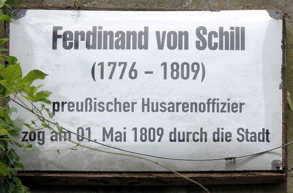 Gedenktafel in Wittenberg