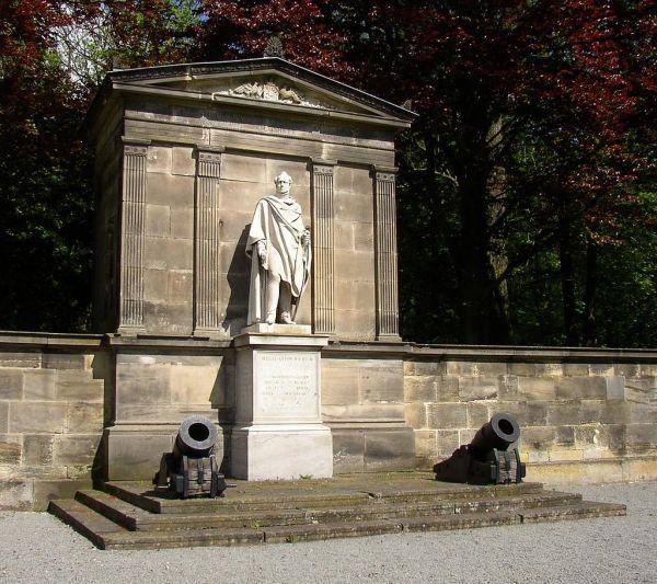 Gneisenau Denkmal am Morsoleum