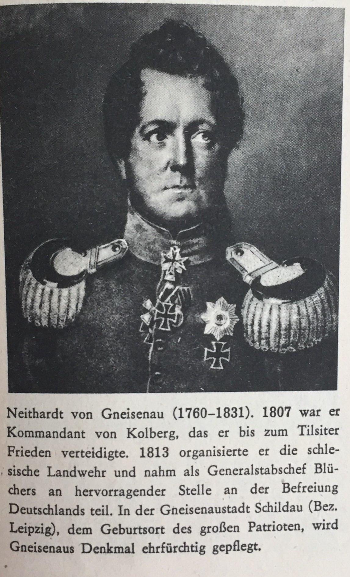 August Neidhardt von Gneisenau