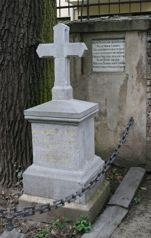 Grabstätte auf dem alten Friedhof in Bonn