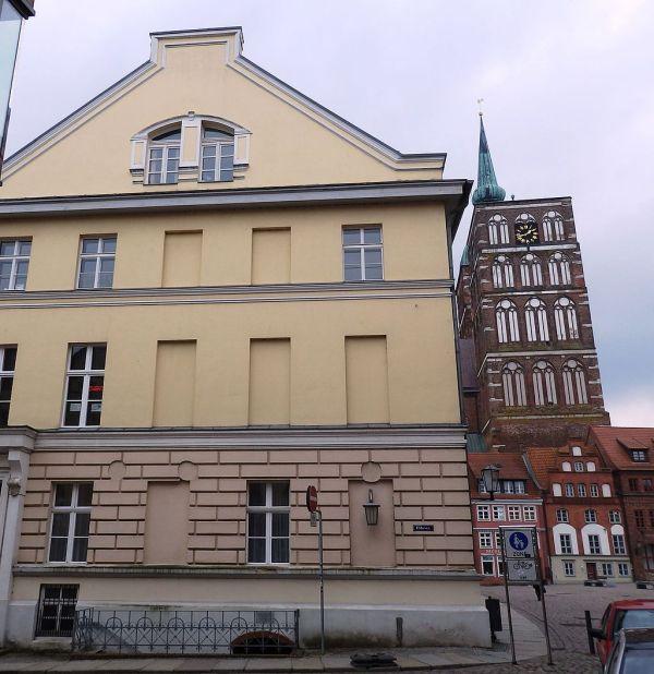 Kellergefängnis der Schillschen Offiziere im Haus Fährstr.:Alter Markt