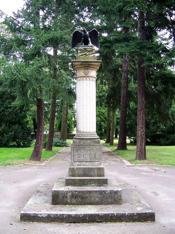 Denkmal für Eleonore Prochaska auf dem Alten Friedhof (in Potsdam)