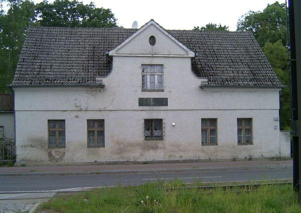 """""""Lützowhaus"""" in Schöneiche, wo Lützow nach seiner Verwundung 1809 gesundgepflegt wurd"""