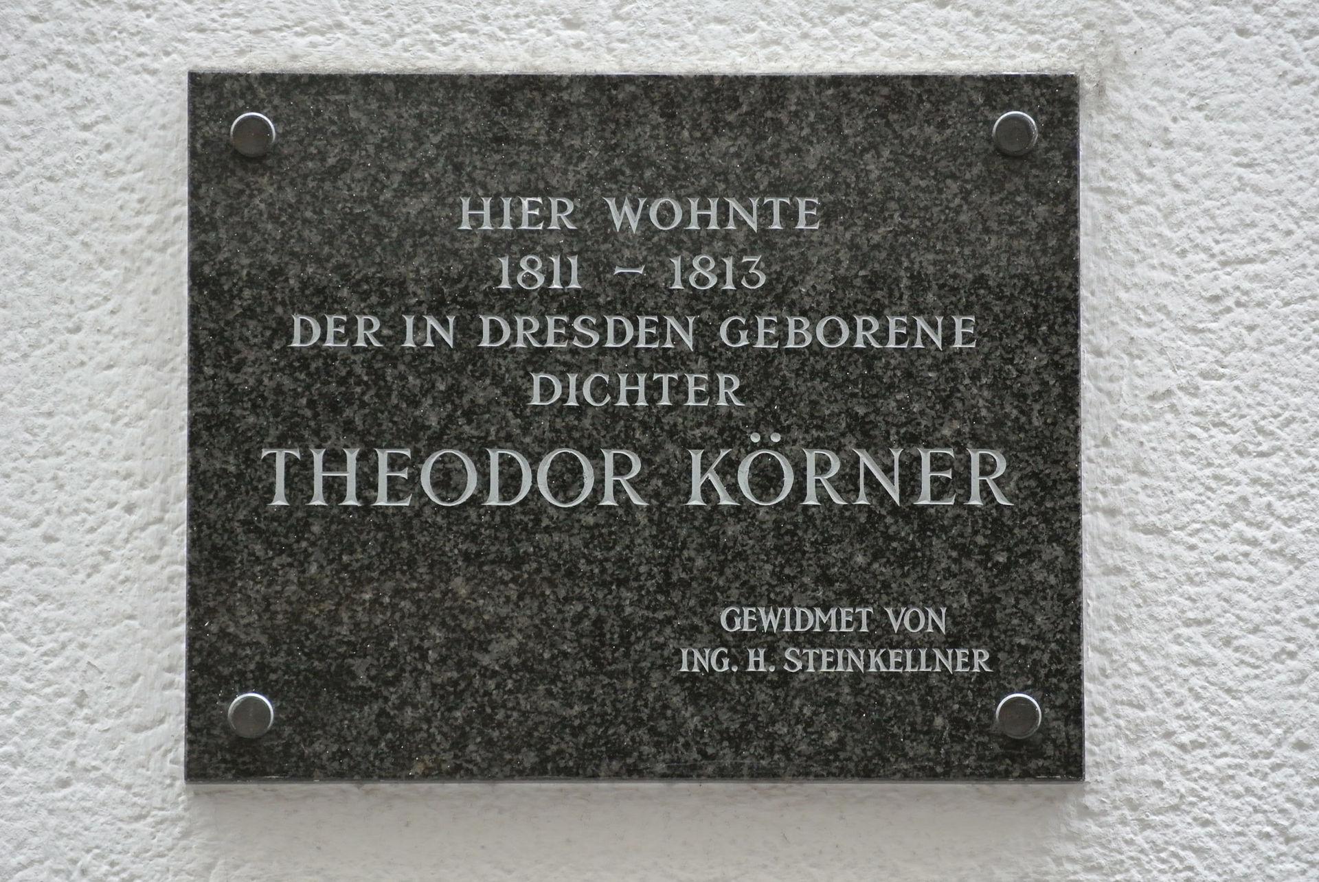 Gedenktafel an Wohnung Wien