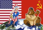 Karikatur Kalter Krieg Kopie