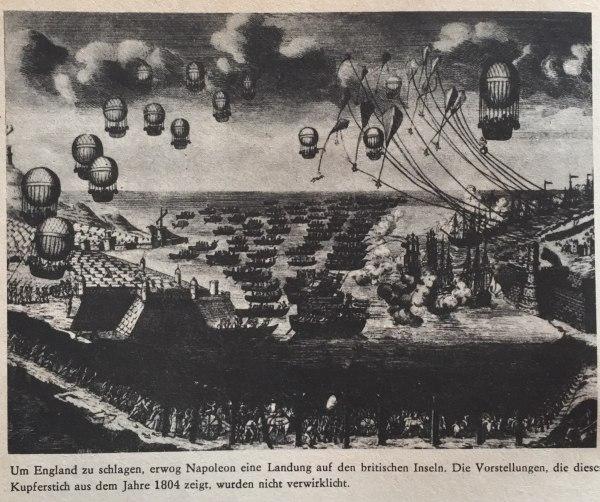 Plan Landung Britische Inseln