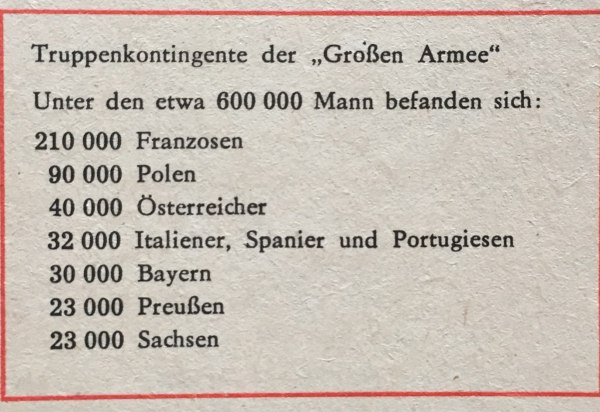 """Truppekontingente """"Große Armee"""""""