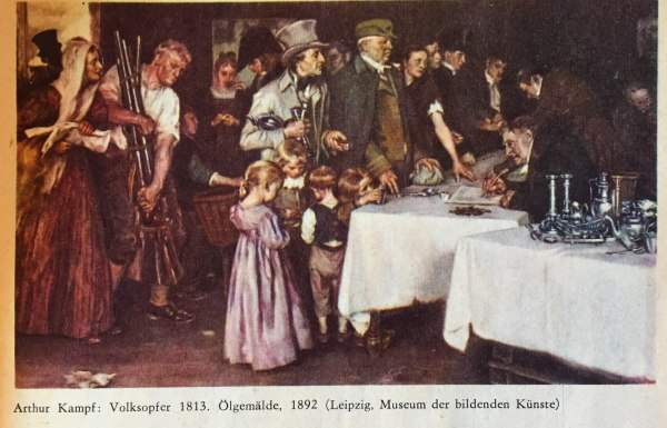 Arthur Kampf, Volksopfer