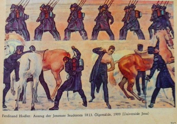 Auszug der Jenenser Studenten 1813