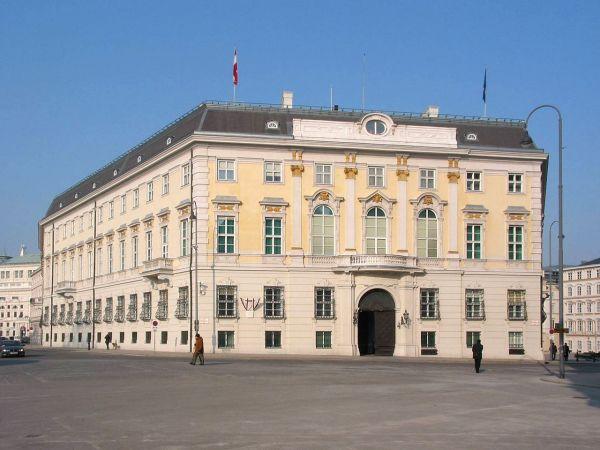 """""""Palais am Ballhausplatz"""", Tagungsgebäude des Wiener Kongresses (heute Bundeskanzleramt)"""