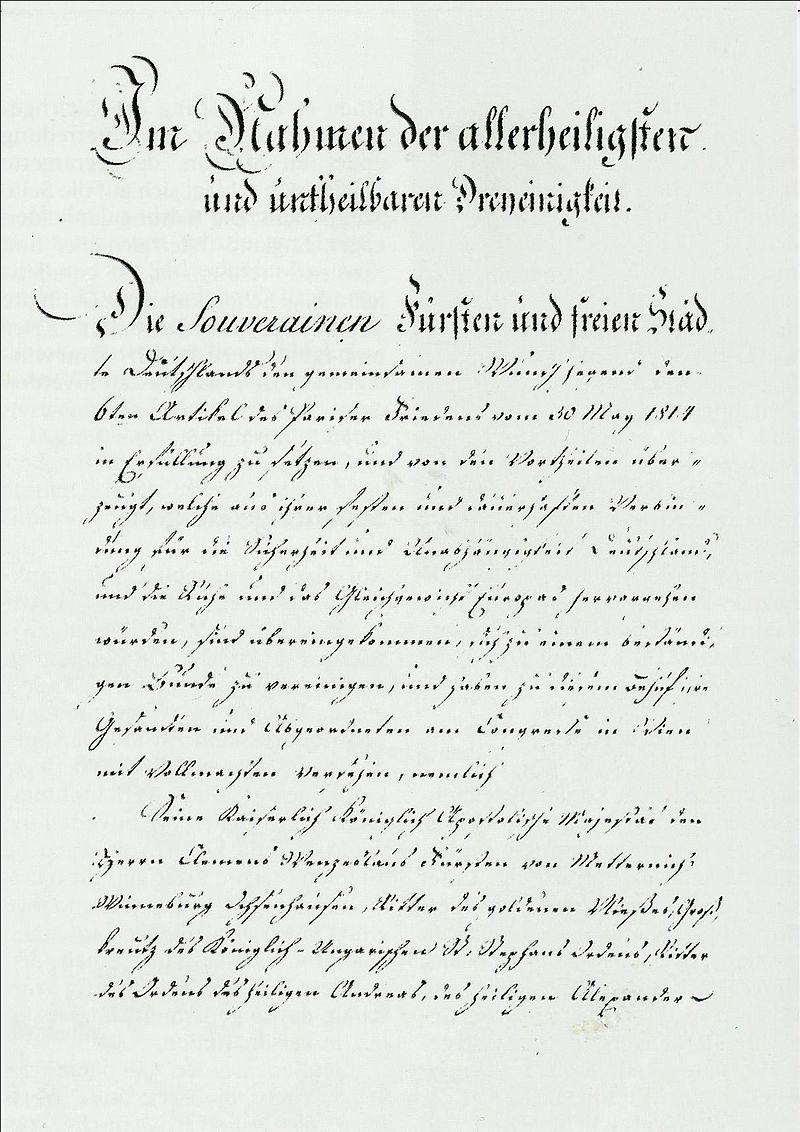 Deutsche Bundesakte