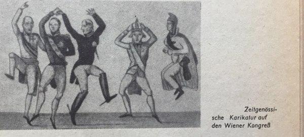 Karikatur Wiener Kongress
