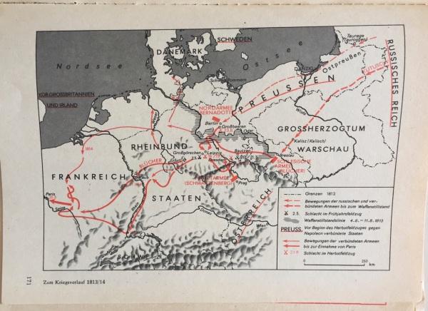 Kriegsverlauf 1813:14