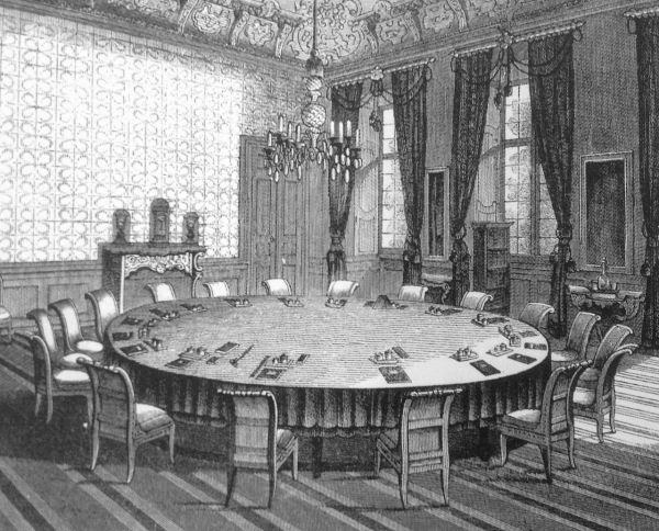 Sitzungssaal des Engeren Rates