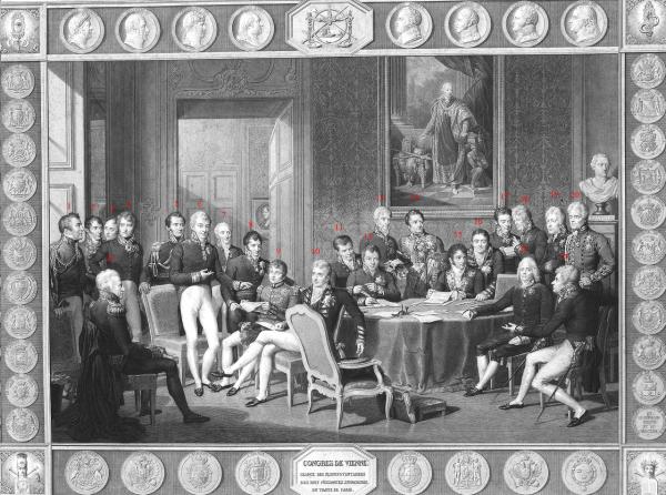 Teilnehmer Wiener Kongress