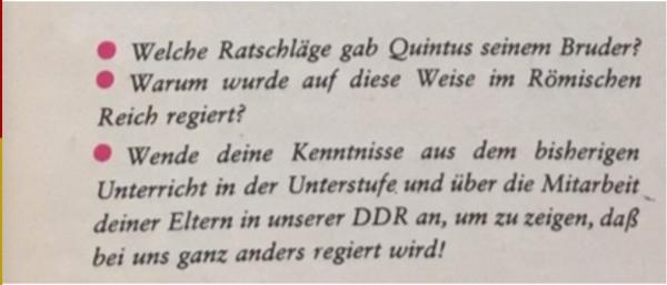 Aufgaben für Schulkinder der DDR
