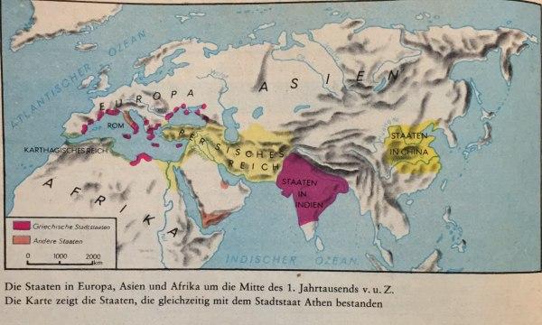 Europa 1.Jahrtausend v.u.Z.