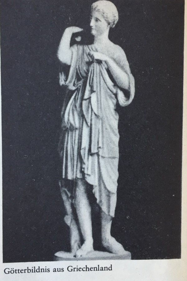 Götterbildnis aus Griechenland