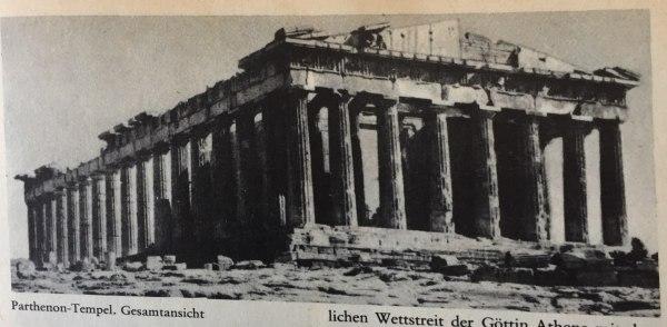 Parthenon-Tempel