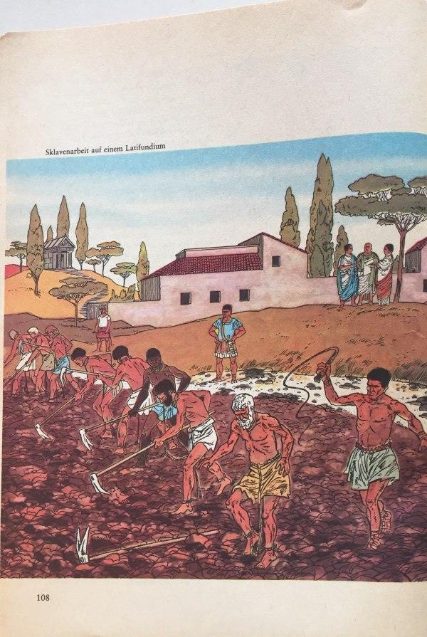 Sklavenarbeit auf Latifundium