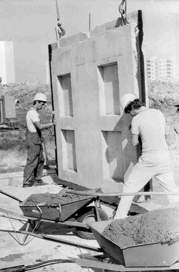 Bauarbeiter DDR Kopie