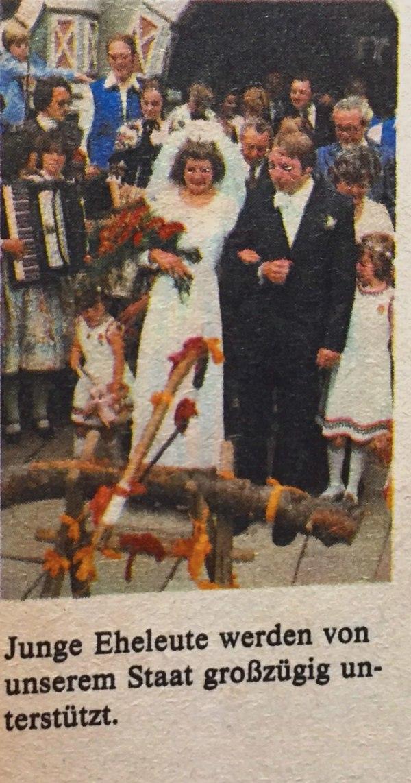 Brautpaar DDR
