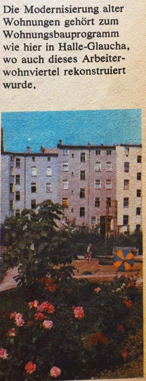Modernisierung Wohnungen DDR
