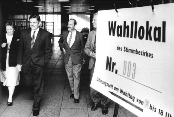 Dresden, Wahl, Wolfgang Berghofer