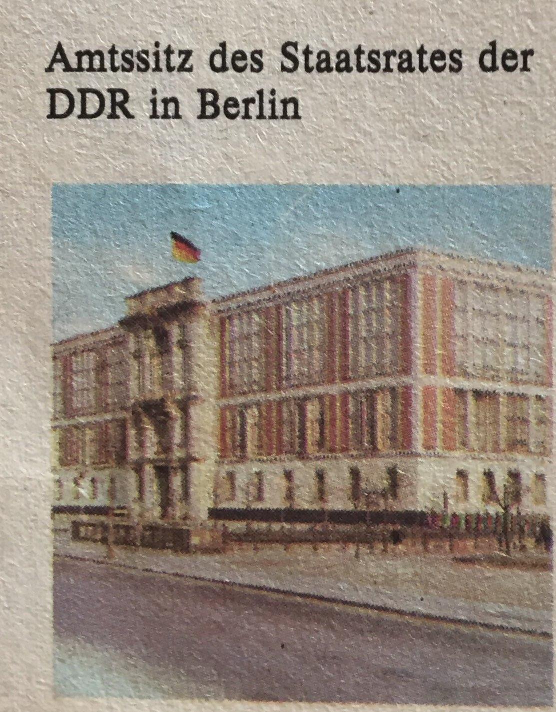 Der Staatsrat der DDR