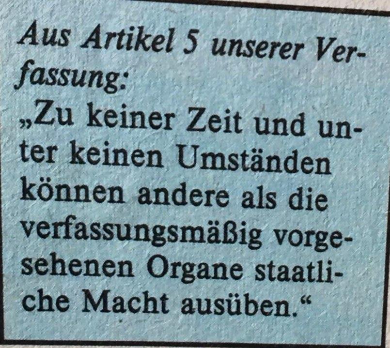 Artikel 5 DDR-Verfassung